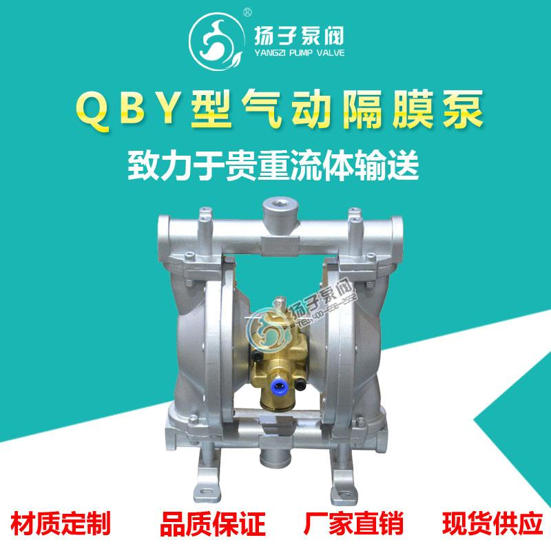 QBY型气动隔膜泵污泥输送泵