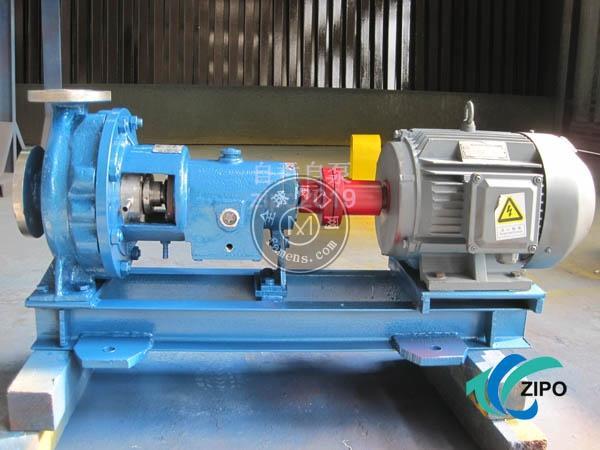 自贡自泵水泵厂耐腐蚀不锈钢机械密封ZCP或ZBG型化工流程泵