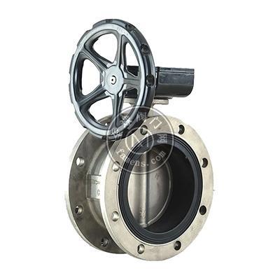 不銹鋼法蘭軟靠背渦輪蝶閥WRD431XP-16