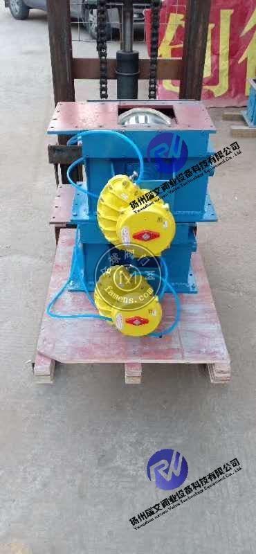 气动流量阀,气动开关阀,水泥库底专用装置,气动控制阀,气动流量控制阀,生料均化库卸料设备 CP200,CP300
