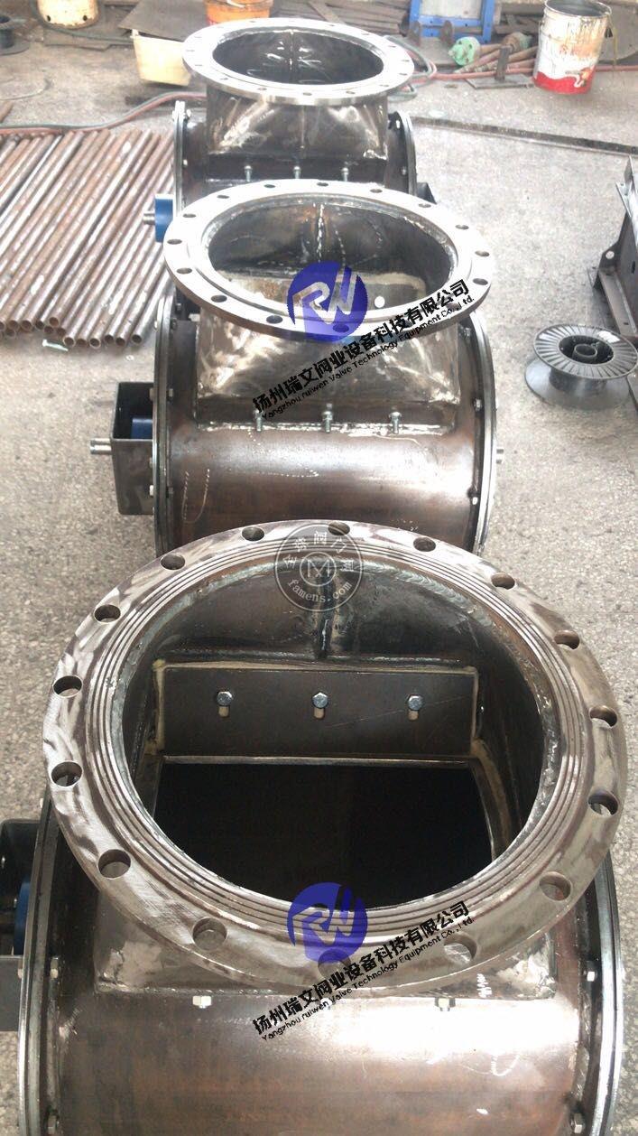 电动回转阀 手动回转阀 液动回转阀 XF200*200,XF300*300,HZ400,HZ500