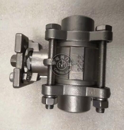 2205三片式焊接球阀 高平台2205螺纹球阀 2205双相钢螺纹球阀