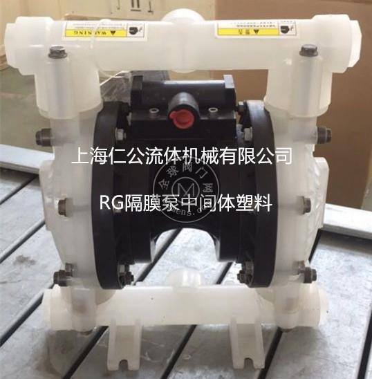 全塑气动隔膜泵RG72911
