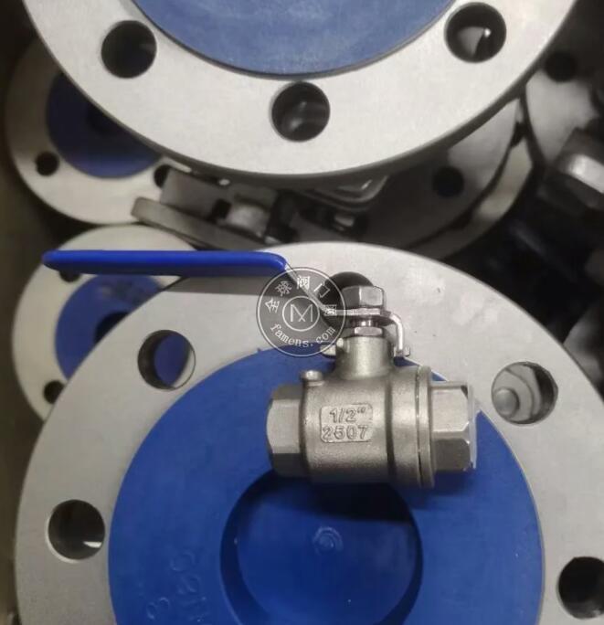 2507NPT螺纹球阀 2507手动球阀 2507二片式螺纹球阀