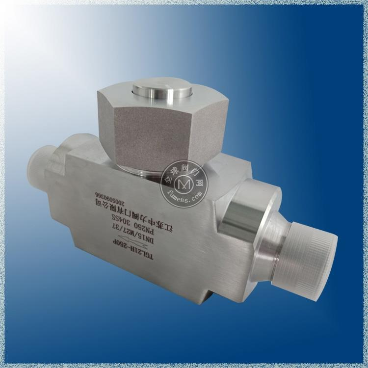 直通式外螺紋T型管道過濾器