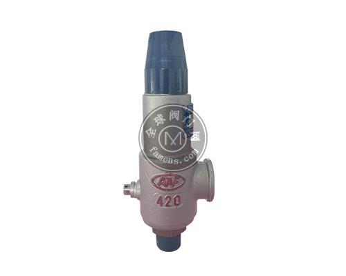 A22型外螺纹连接弹簧全启式安全阀