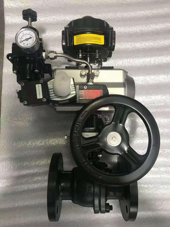 YFV气动浮动式软密封球阀
