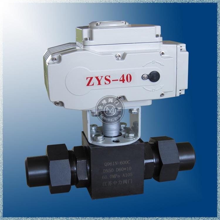 Q961N 电动高压焊接球阀