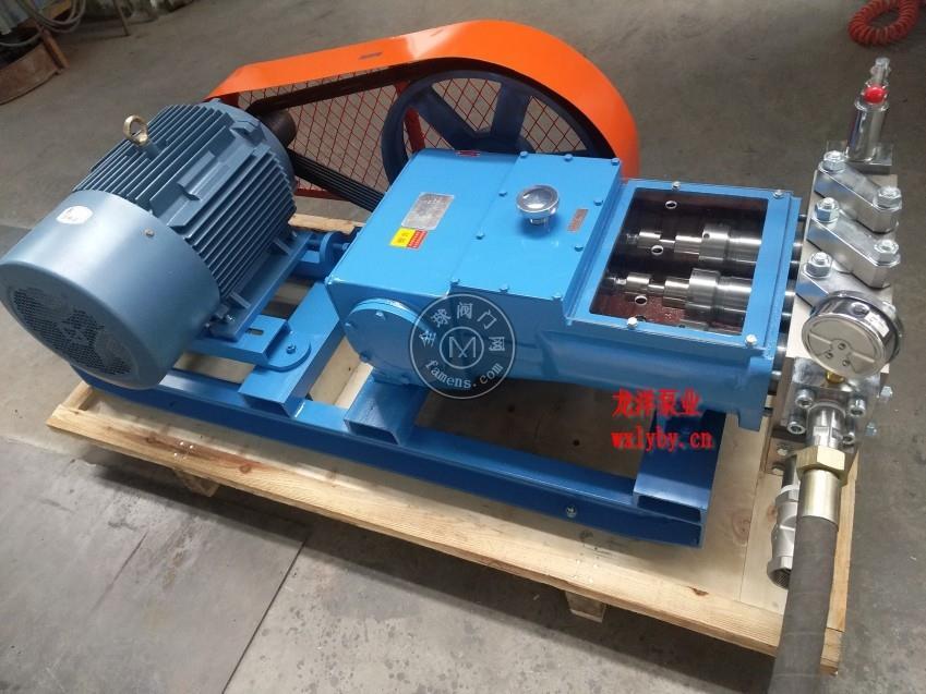高壓柱塞水泵   高壓沖洗水泵