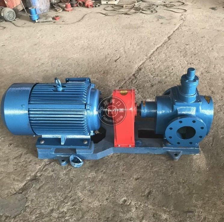 圆弧齿轮泵结构特点