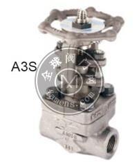 斯派莎克A3S蒸汽截止阀,蒸汽炮铜截止阀