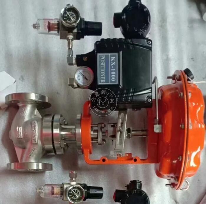 氣動調節閥 氣動不平衡式切斷調節閥