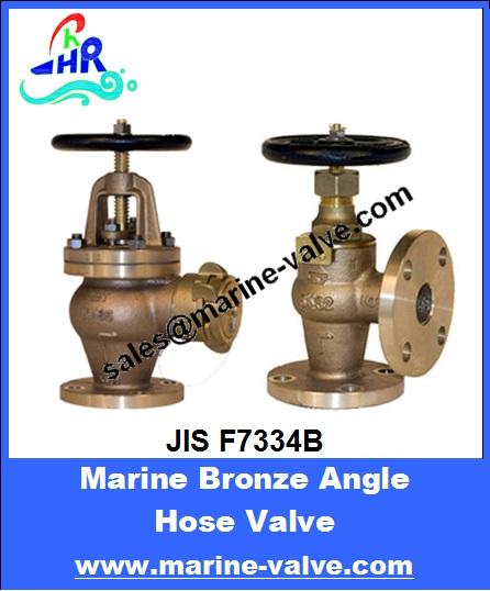 JIS F7334B青铜直角消防阀