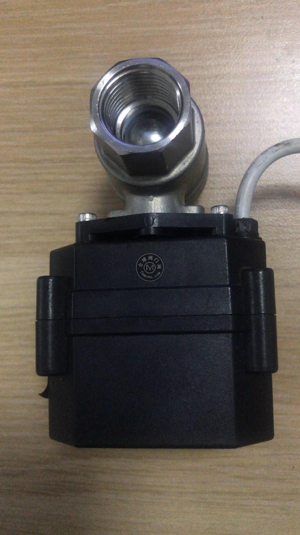 電動防堵塞排水閥