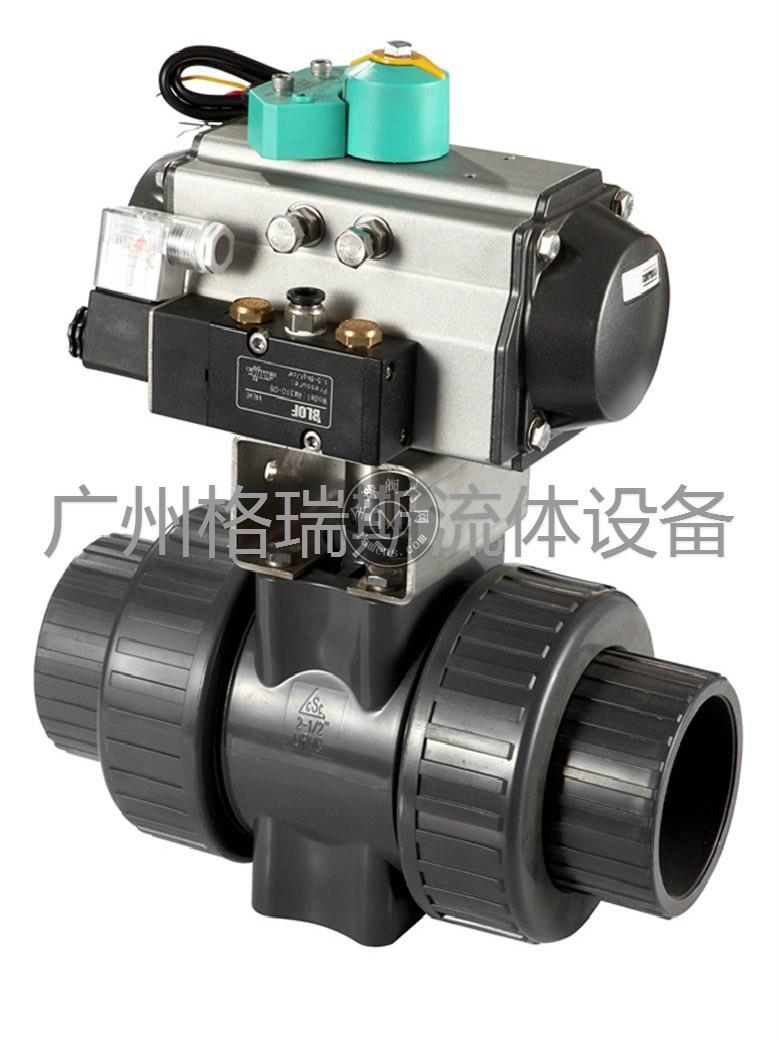 Q611S氣動PVC球閥