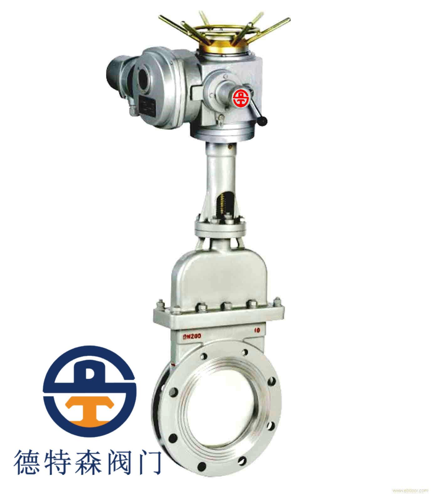 电动刀型闸阀DN350