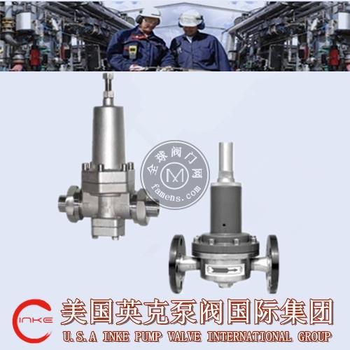 进口LNG液化天然气减压阀高品质优选美国英克