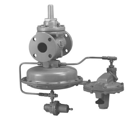 Fisher™ 1290 型蒸气回收调压器