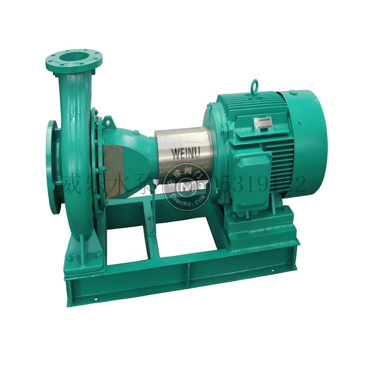 威乐水泵-单级单吸卧式标准离心泵 不锈钢端吸泵