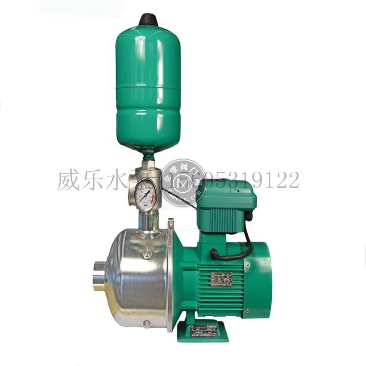威乐背负式矢量变频泵组增压泵背负式变频泵自动恒压变频稳压泵