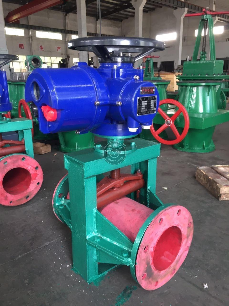 电动胶管阀 管夹阀GJ941X-6/10L口径DN65 DN80 DN100 DN125 DN150