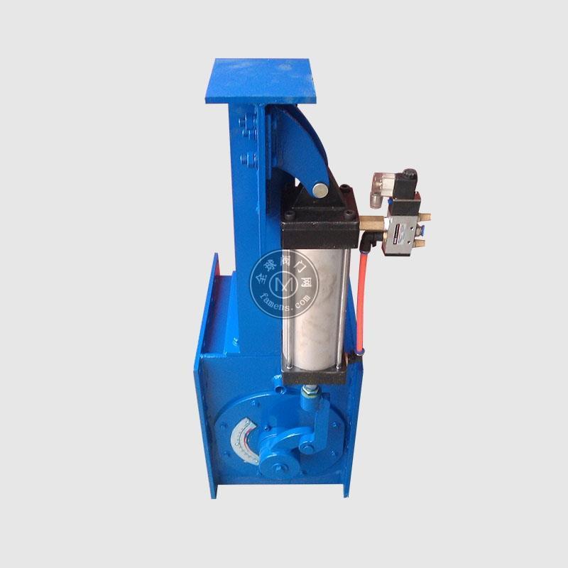 水泥庫底流量控制閥B300電動流量閥B300氣動流量開關閥卸料設備