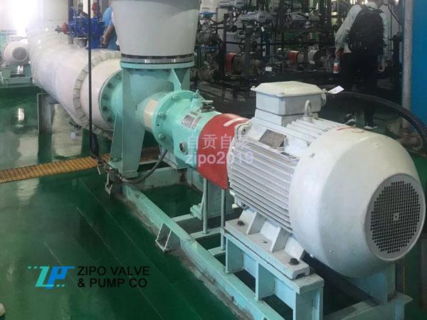 自貢自泵水泵廠ZAP型或ZWX真空制鹽三效蒸發系統強制循環軸流泵