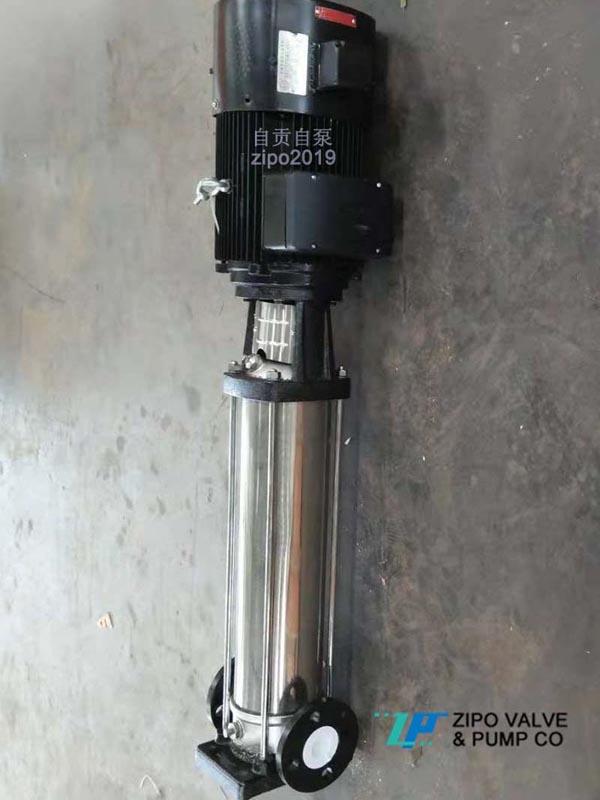 自貢自泵水泵廠ZDL或ZDLF或QDLF系列立式多級管道離心泵
