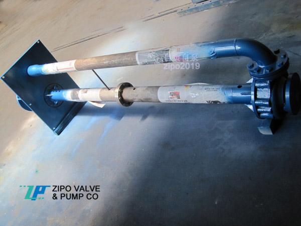 自貢自泵水泵廠ZFY型ZYH型ZYW型無阻塞液下泵廢水泵液下排污泵