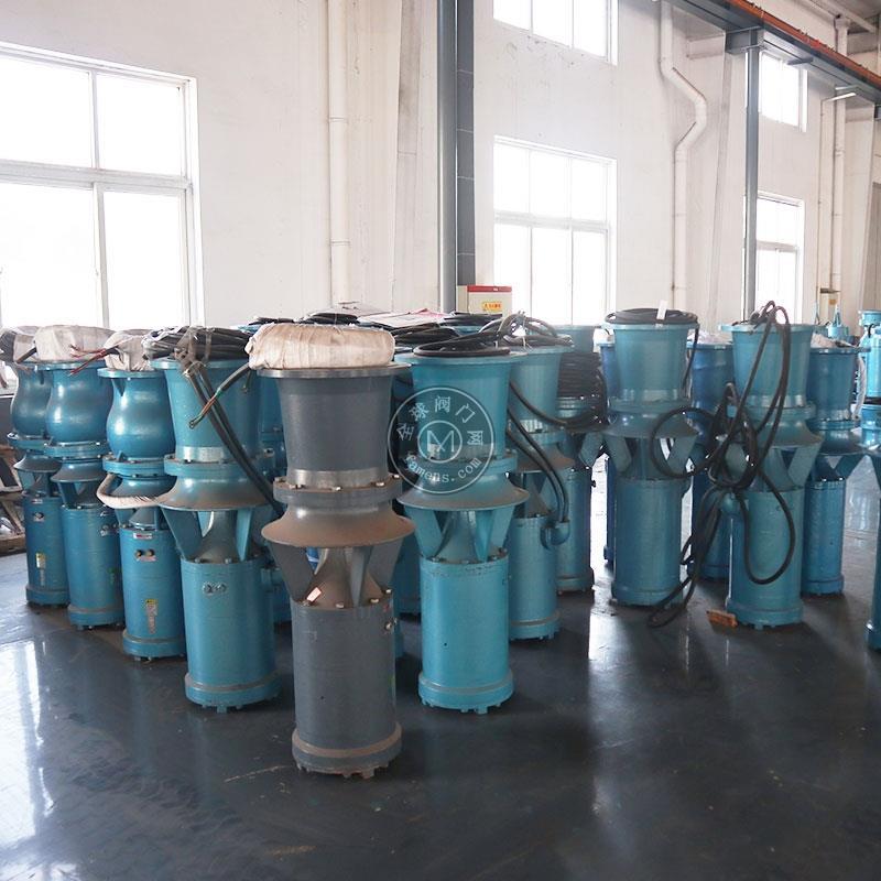 臨時用潛水軸流泵