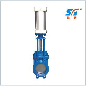 气动整体式浆液阀/气动一体式浆液阀