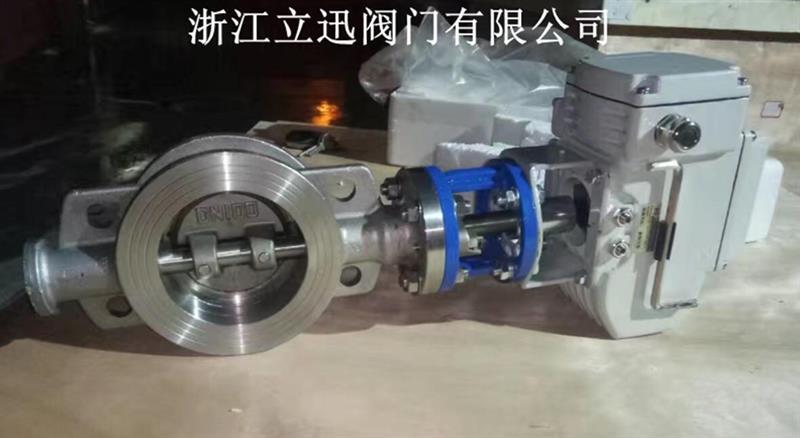 电动不锈钢蝶阀D973W-16P/R/RL型号