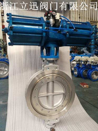 气动不锈钢蝶阀D673W-16P/R/RL型号