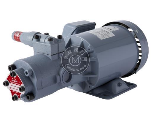 NOP齒輪油泵TOP-2MY750-210HBMVB打頭機油泵