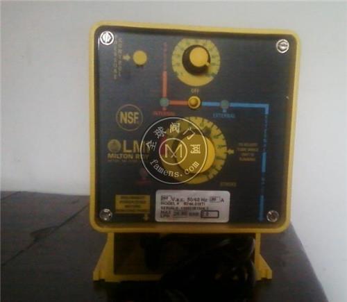 LMI電磁隔膜加藥泵B916-398TI代理選型