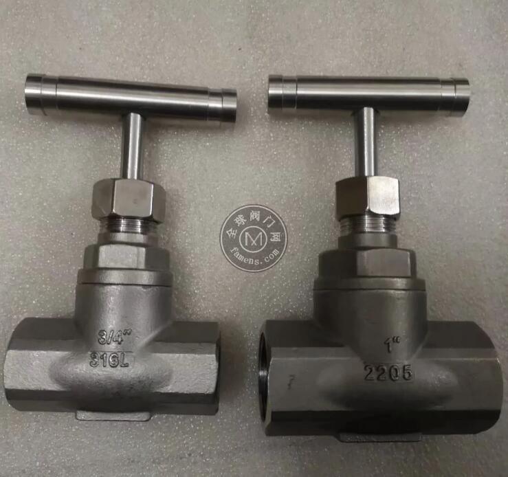 2205截止阀 2507双相钢螺纹截止阀 NPT螺纹 G螺纹