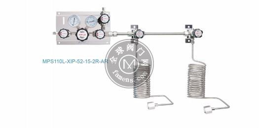 MPS110系类敦阳单侧特气汇流排