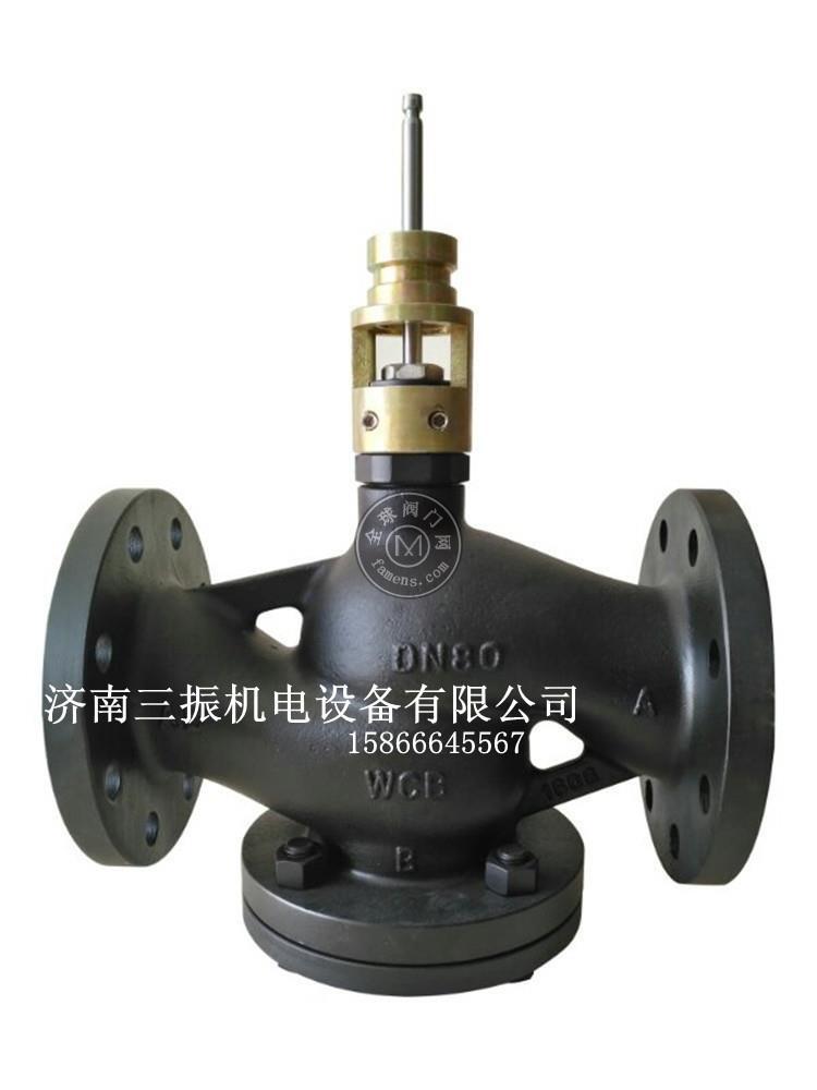 西门子比例式电动铸钢减温减压阀DN80