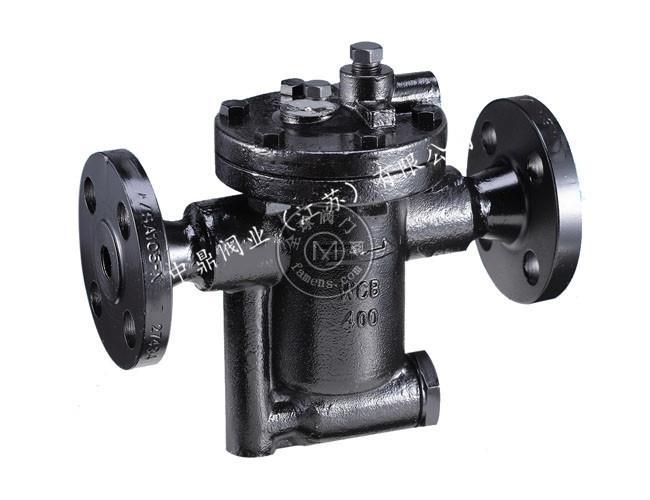 碳鋼法蘭倒置桶式蒸汽疏水閥倒吊不銹鋼絲扣承插焊DN15-50