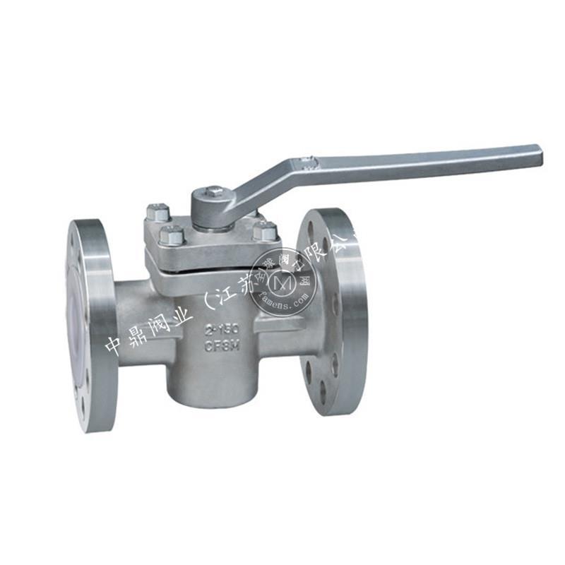 不銹鋼法蘭旋塞閥柱塞閥X41DN50-200球墨鑄鐵