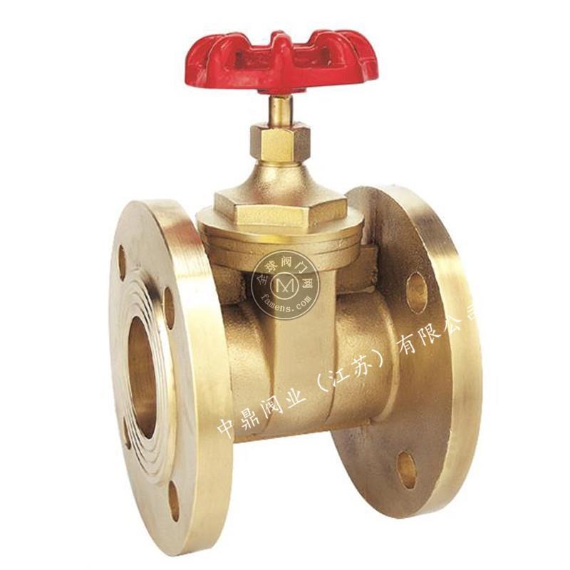 Z45W手轮黄铜法兰闸阀DN15-300高温高压自来水手动式加厚