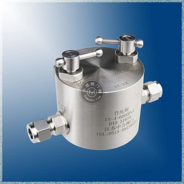 不锈钢高温高压气体放空阀