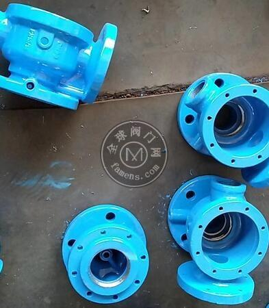 法兰低阻力倒流防止器 球铁倒流防止器 分体式倒流防止器