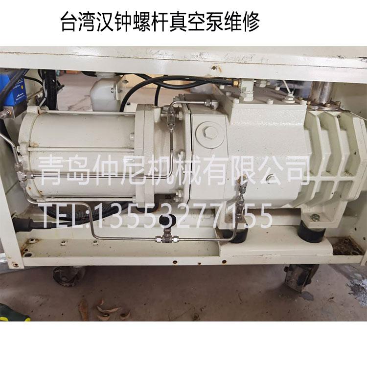 臺灣漢鐘干式螺桿泵維修