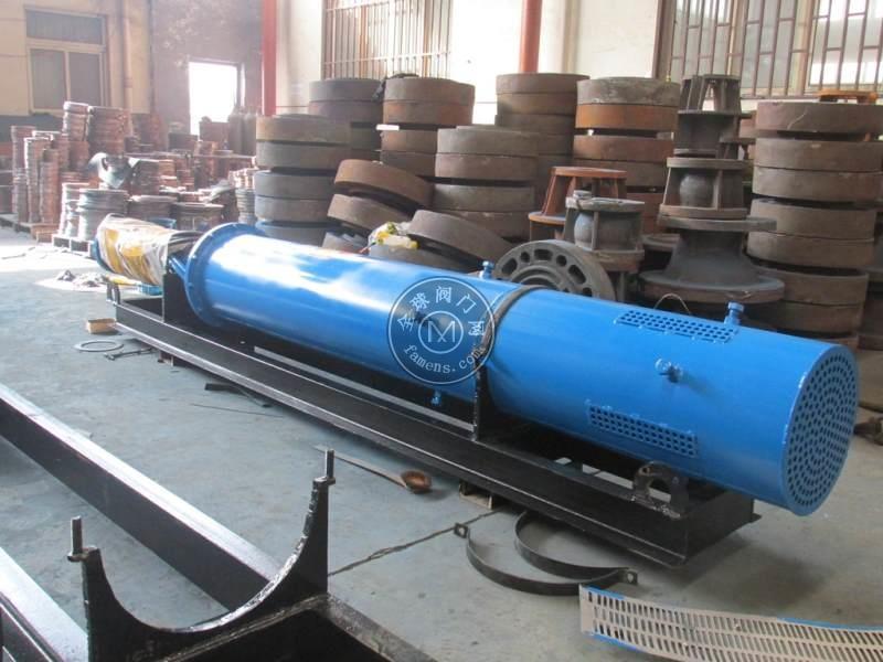 耐热卧式潜水泵_适用于热水池、河流、湖泊