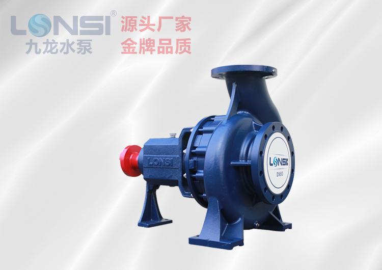 IR型单级热水离心泵
