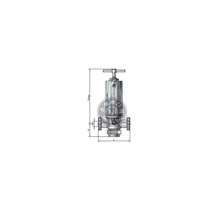 德国Niezgodka不锈钢安全阀Type18系列用于垃圾渗滤液处理系统