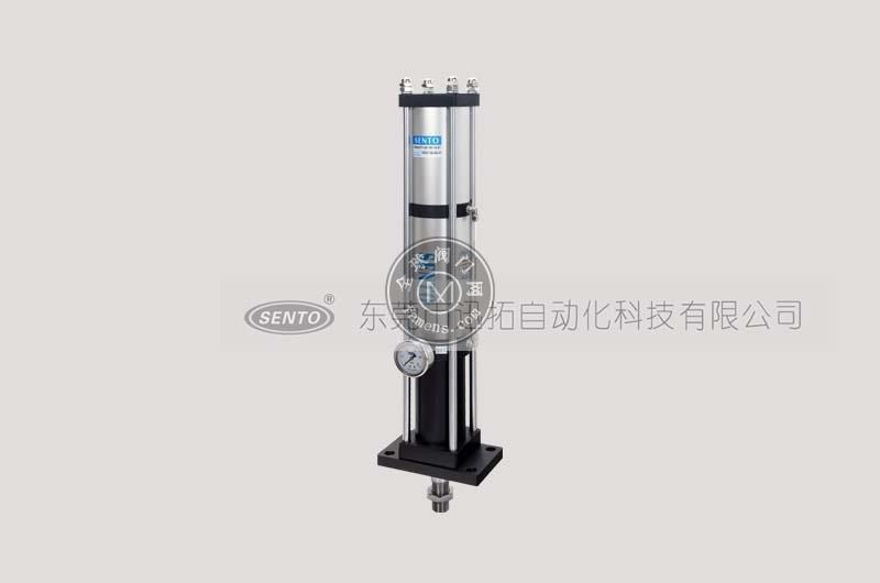 森拓STV单体式气液增压缸_一体式增压缸工作原理_工作场合与应用