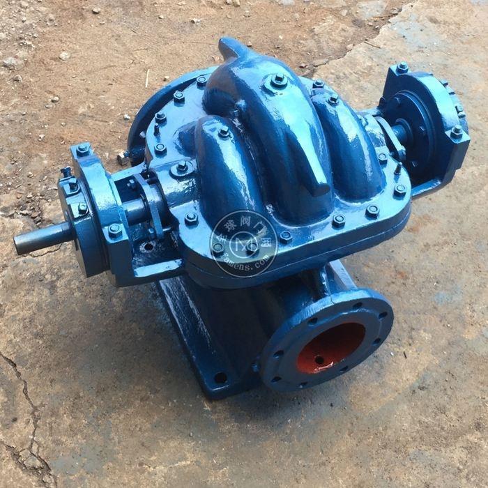 河北祁卓厂家生产大流量坚固耐用单级双吸离心泵SH双吸中开泵