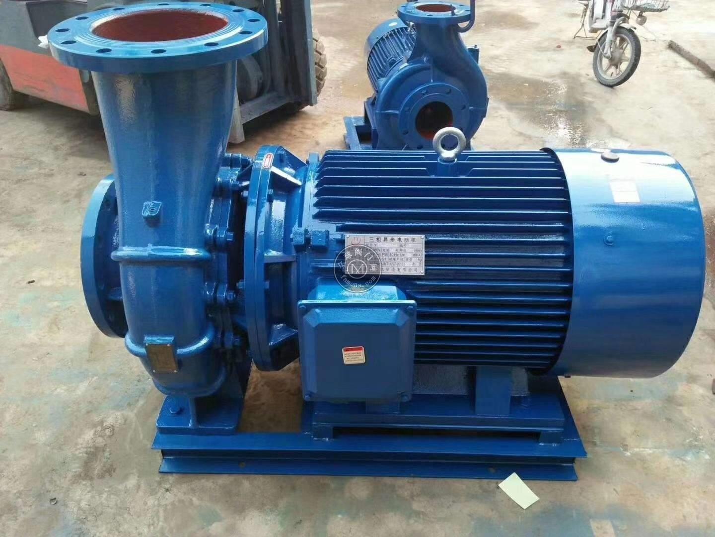 卧式立式管道离心泵冷热水循环泵